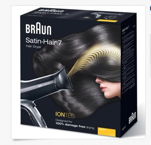 Phon Braun Hd sartin hair 7 nero HD 730 2200W