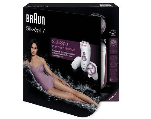 Braun Silk Epil 7 Skin SPA (facial brush) 7979 type 5377