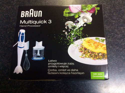 Minipimer Braun Multiquick 3 MR320